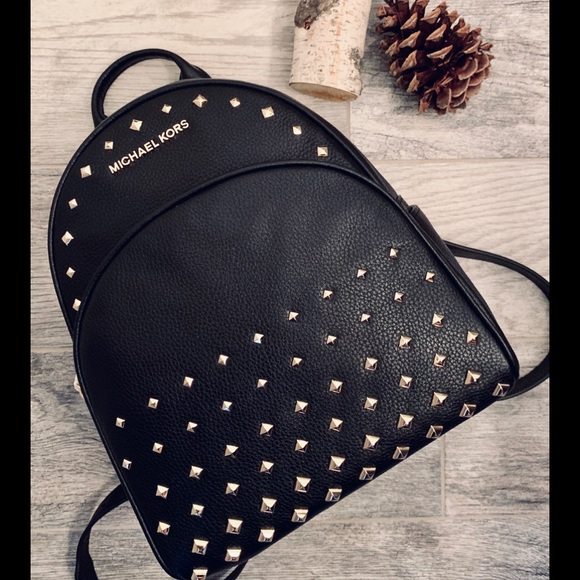 d24c16a0a820 Michael Kors Bags   Abbey Md Studded Backpack   Poshmark